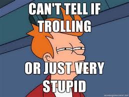 Slaying the Troll